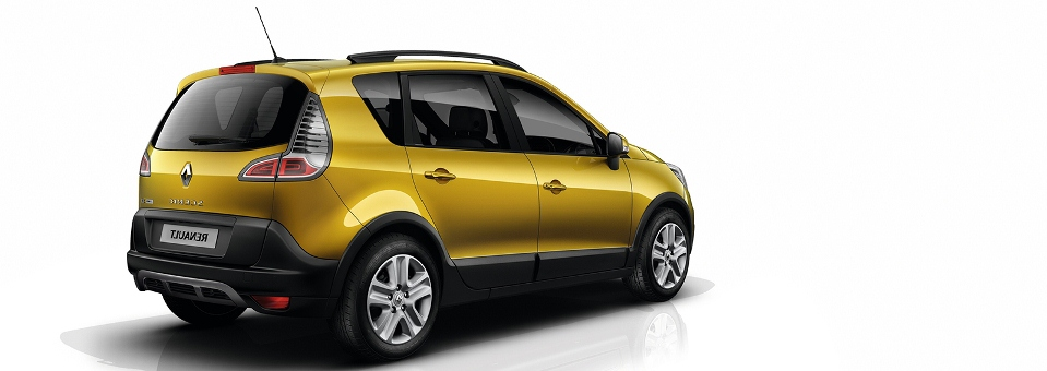 Renault Scenic XMOD capa
