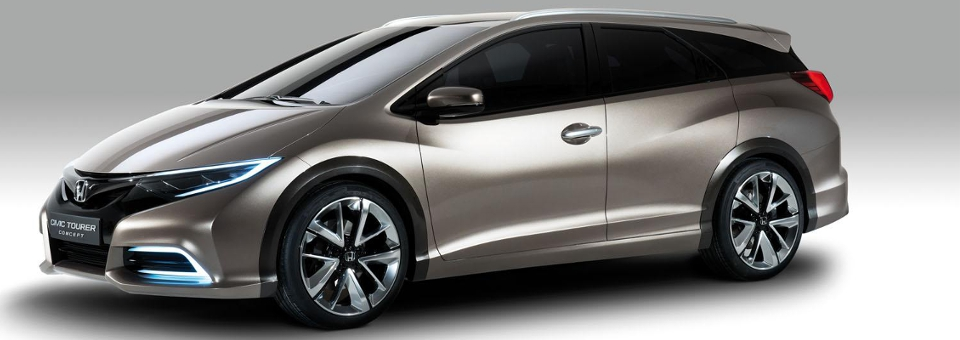 Honda Civic Tourer capa