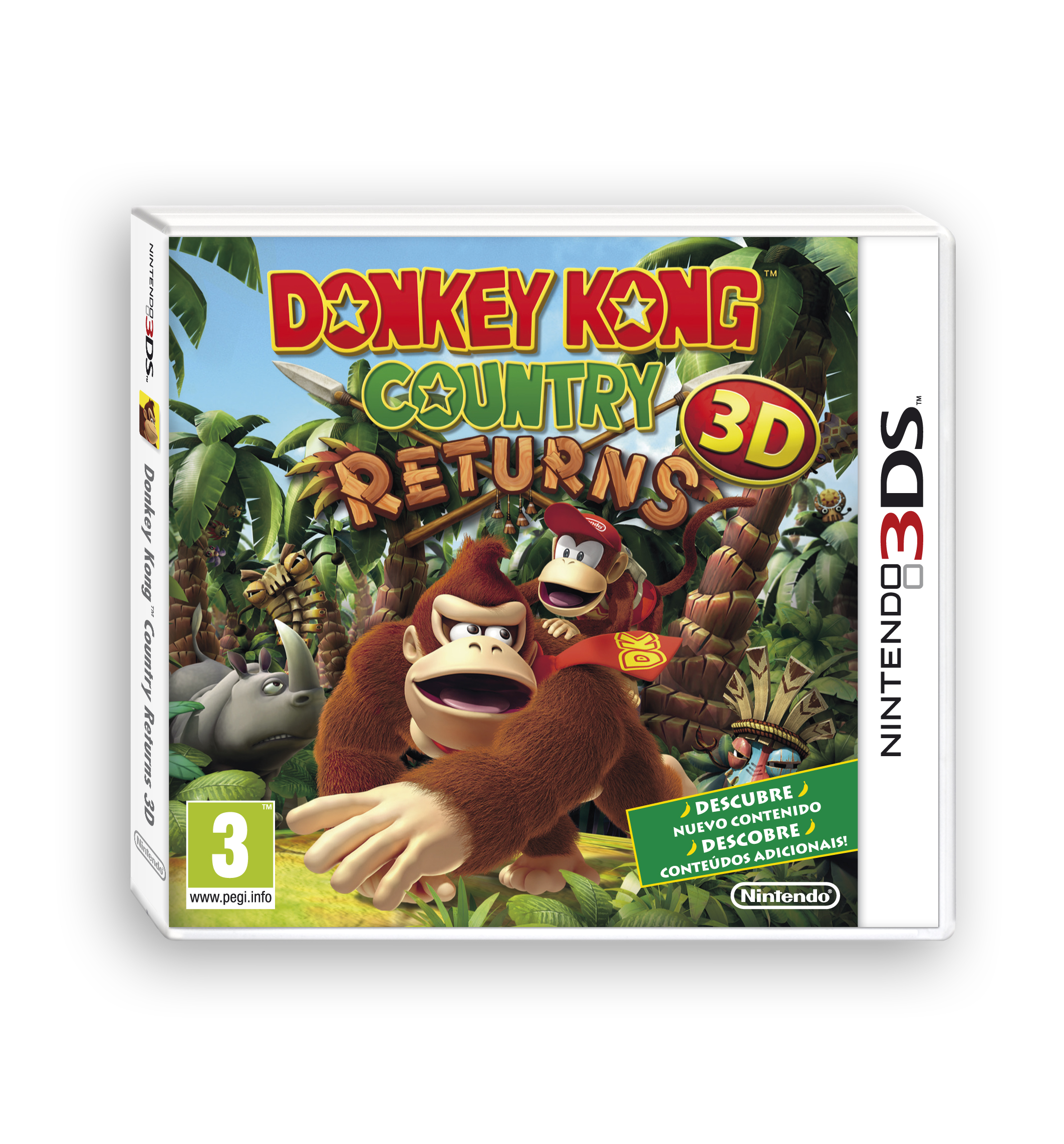 Donkey Kong Country Returns 3D pack