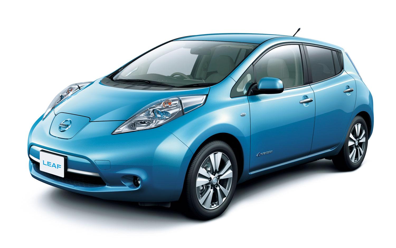 Revised Nissan Leaf Japanese Spec front side view11
