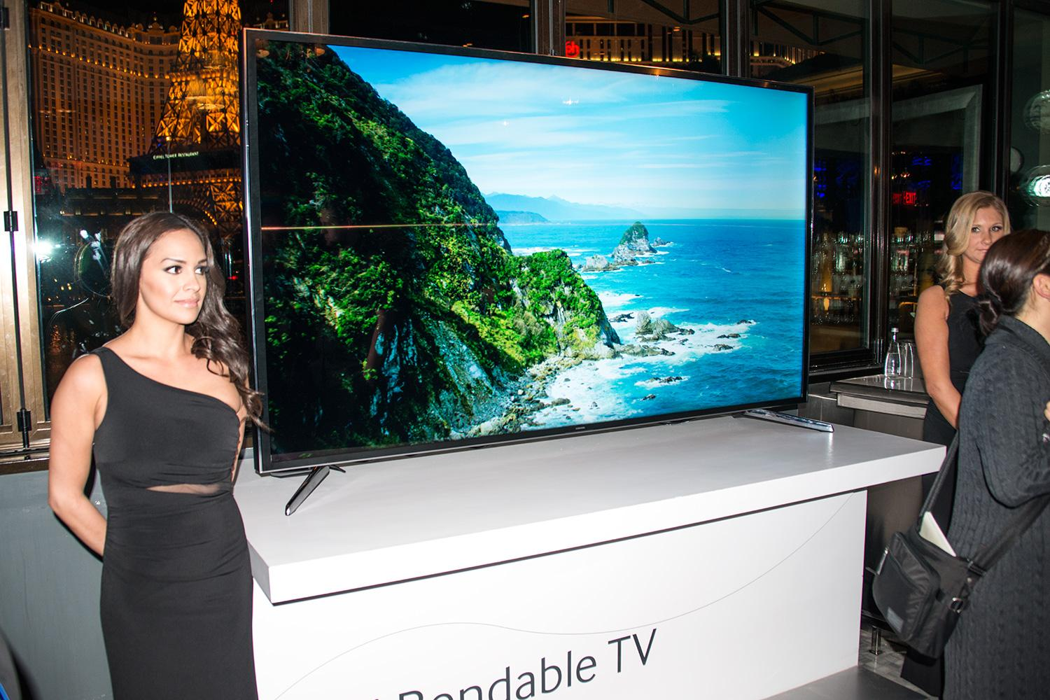 samsung 85 inch bendable tv