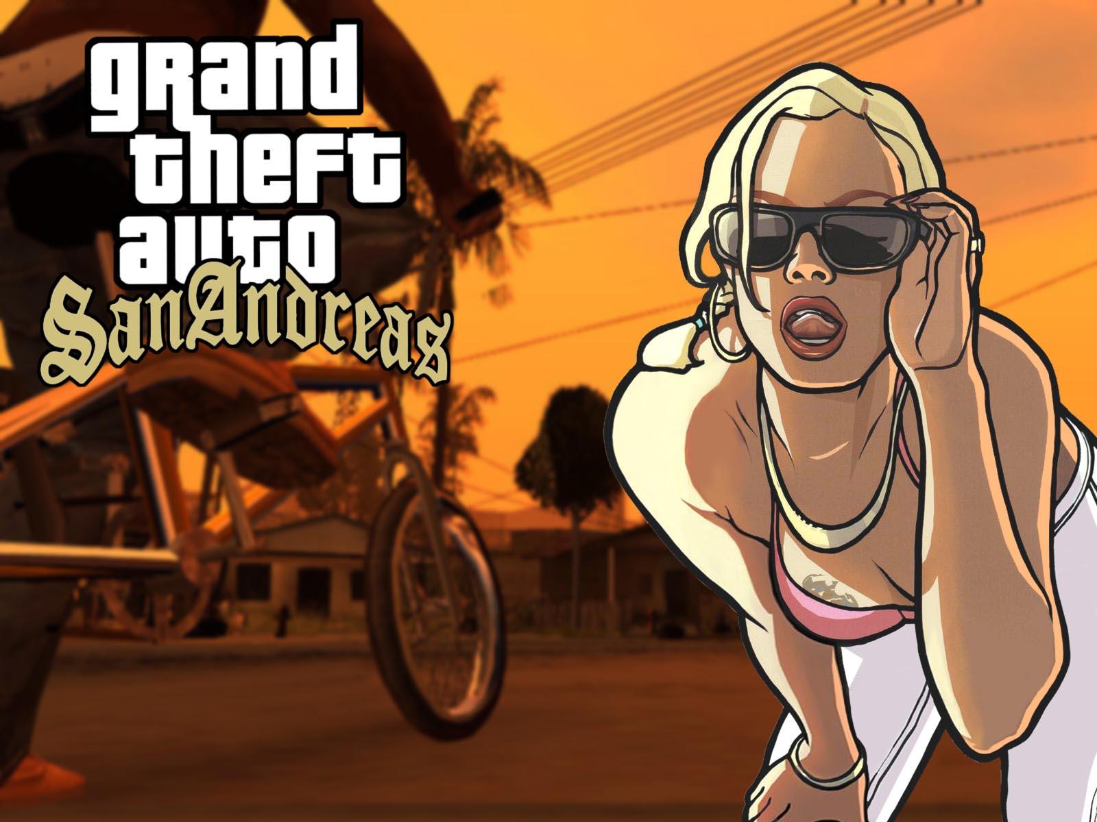 GTA V com San Andreas1