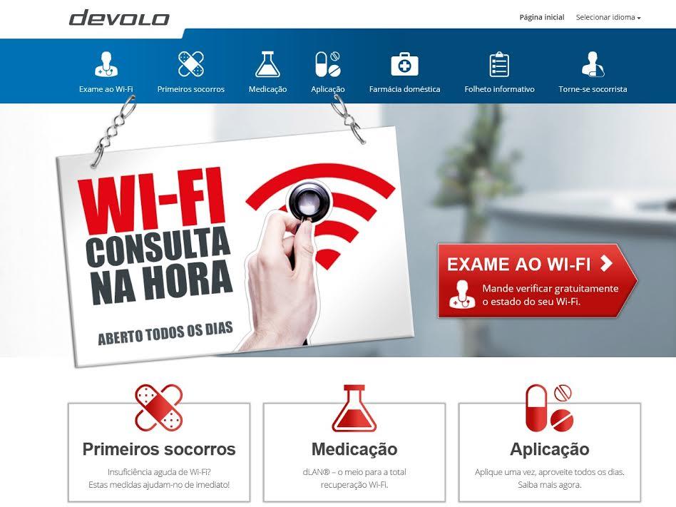 devolo consultório Wi Fi