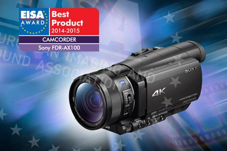 Eisa Sony FDR AX100 blog