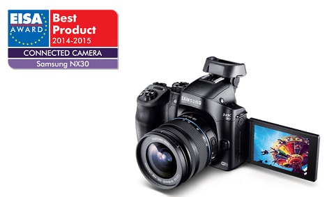 SMART CAMERA NX30 EISA Award