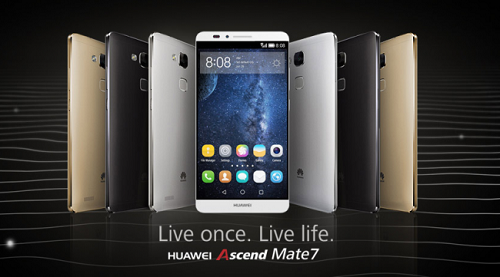 Huawei Ascend Mate 7 and Ascend G7 are annonced at IFA