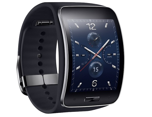 Samsung Gear S Blue Black 3