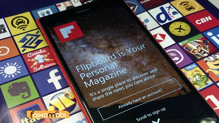 Flipboard Lumia1520