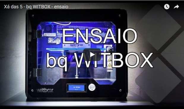 Xá das 5 bq WITBOX ensaio