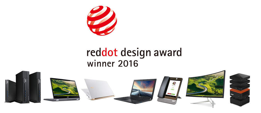 Acer Red Dot Award 2016 XL