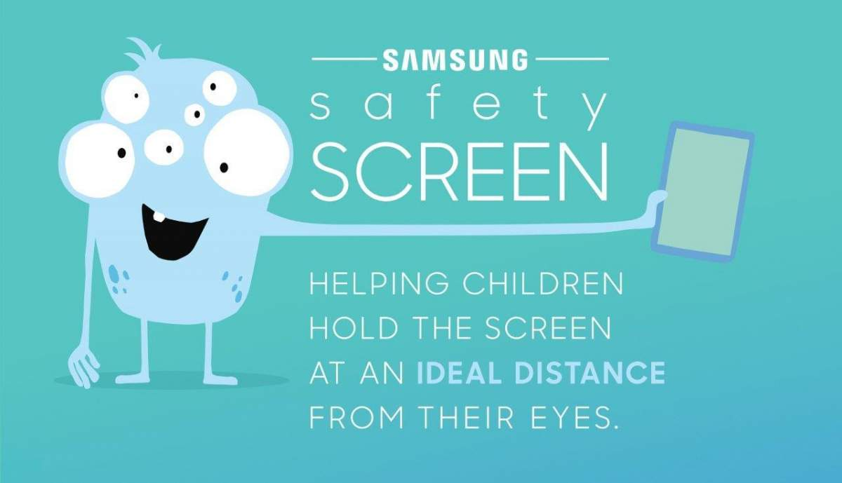 Samsung safescreen