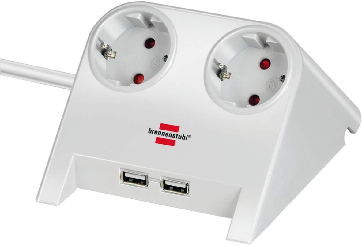 Brennenstuhl Desktop Power USB Charger