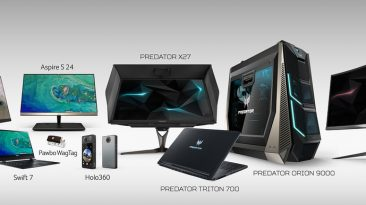 Acer iF Design Award 2018 Products XL