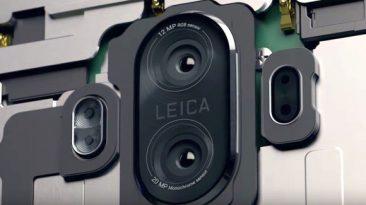 Huawei Mate 9 smartphone with dual lens Leica camera 1
