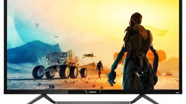Gama Philips Momentum especificamente pensada para o entretenimento em casa e nas consolas de jogos
