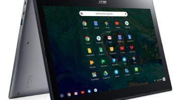 Acer Oferece Flexibilidade em Grande Ecrã com o Primeiro Chromebook Convertível de 15 Polegadas