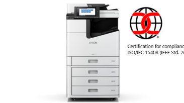 Impressoras profissionais Epson recebem certificação