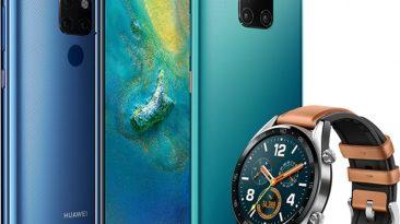 Huawei Watch GT + Mate 20