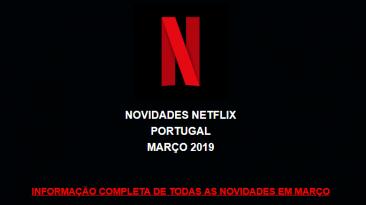Programação Netflix Março - Xá das 5