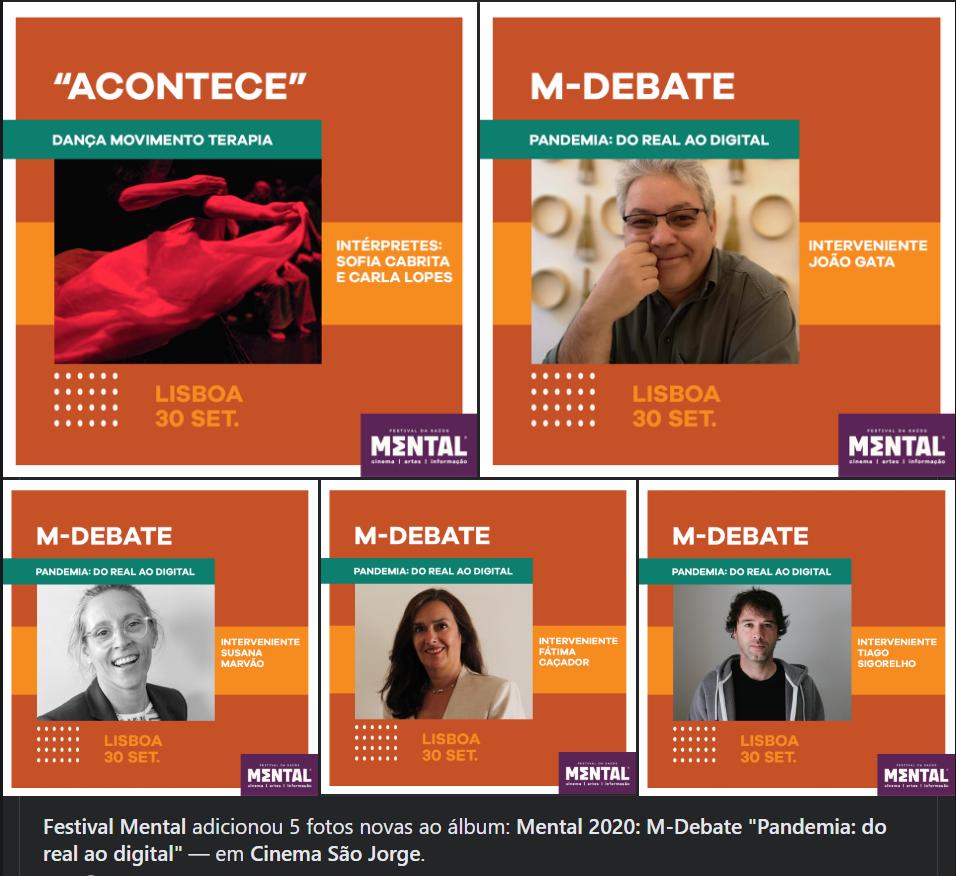 Festival mental debate: pandemia, do real ao digital