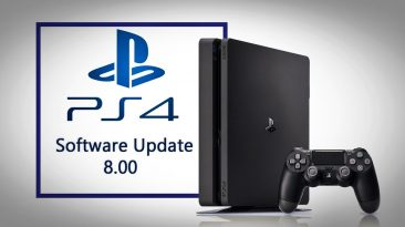 Sony PlayStation PS4 system software update 8.00 1