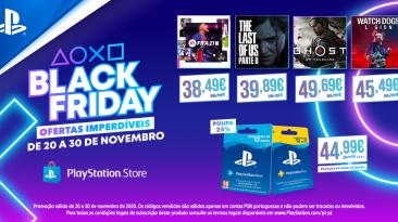 Black Friday_PlayStation Store Xá das 5