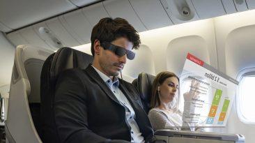 nova geração de tecnologia de óculos inteligentes Epson Moverio