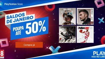 Saldos de Janeiro_PlayStation Store