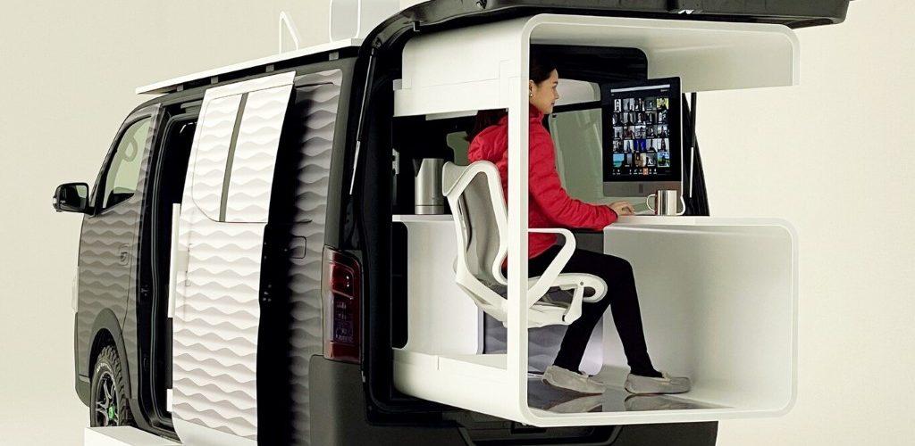 Nissan NV350 Office Pod Concept