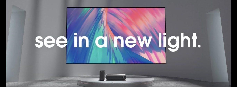 Hisense TriChroma Laser TV