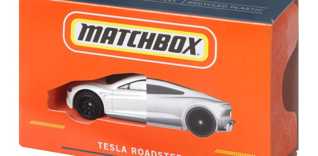 Matchbox Tesla Roadster Die-Cast
