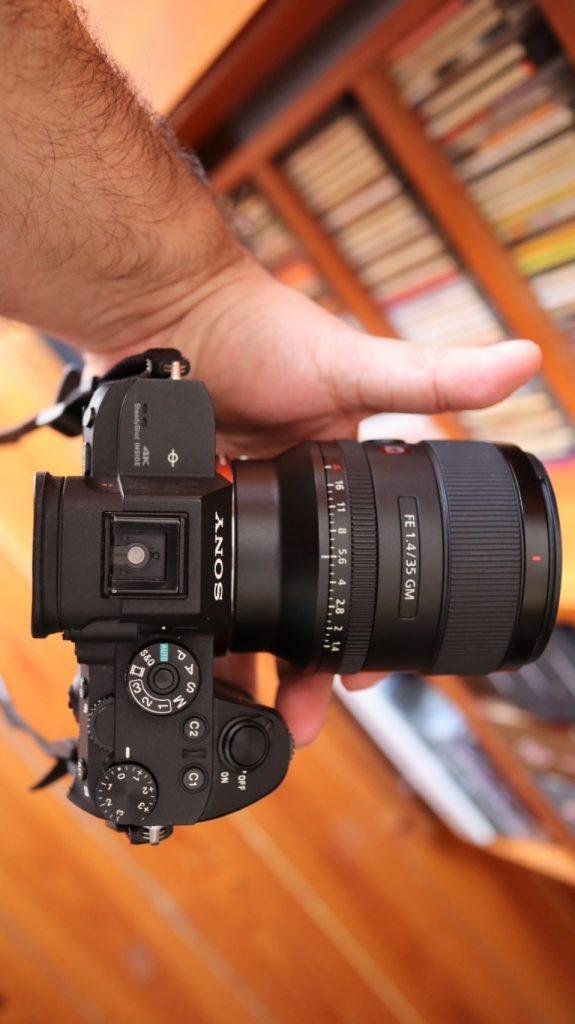 Sony SEL 35 f14 gm