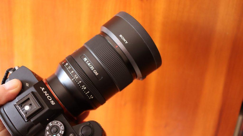 Sony SEL 35 f14 gm 15