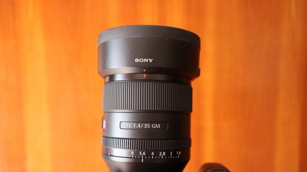 Sony SEL 35 f14 gm 17