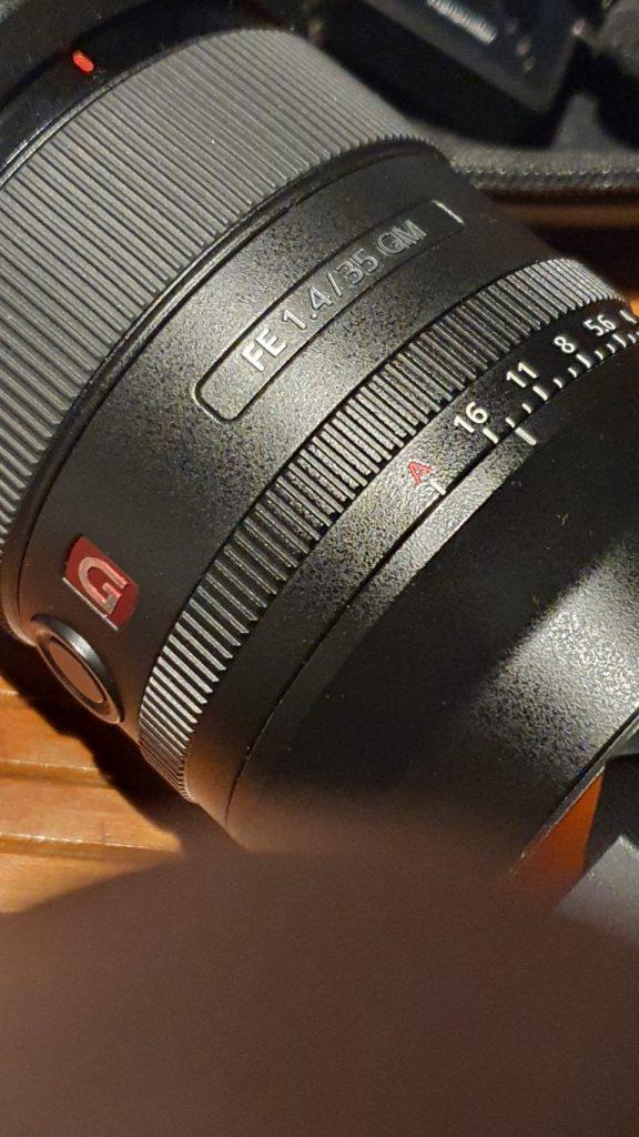 Sony SEL 35 f14 gm 2