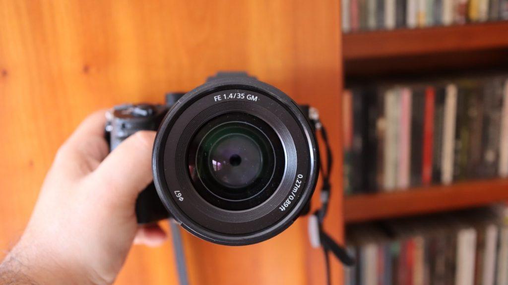 Sony SEL 35 f14 gm 9