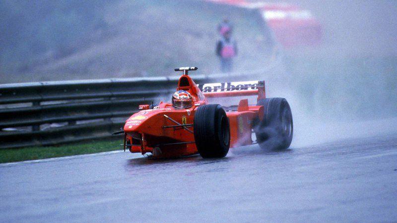 Schumacher in 3 wheels