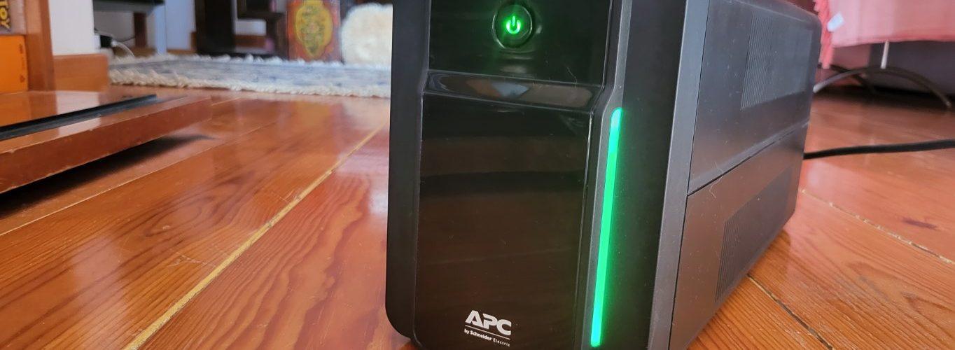 Xá das 5 Análise APC Back-UPS BX Series 750VA