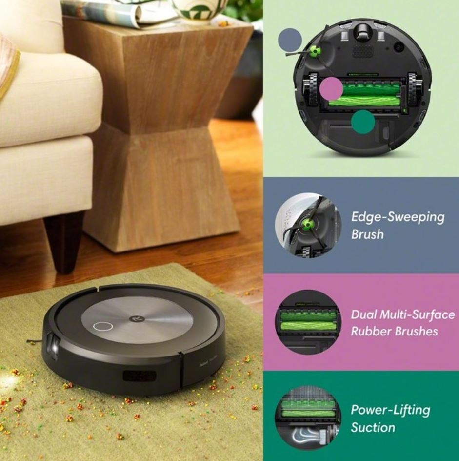 Roomba j7+ funções